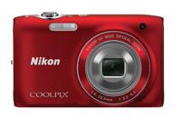 Nikon COOLPIX S3100 14.0MP Digital Camera Red
