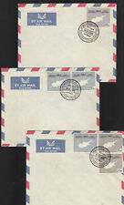 CYPRUS...16-8-1960  INDEPENDENCE COMM.ISSUE , LOT 3 COVERS FDC