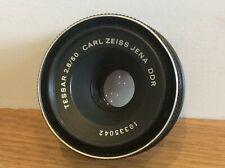 CARL ZEISS JENA DDR Tessar 2.8 50mm Lens Working Ship Worldwide