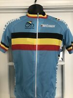 BIO-RACER Short Sleeve Jersey From Belgium National Cycling Team NEW!