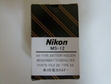 New Nikon MS-12 AA-Type Alkaline/Lithium Battery Holder For F100 Japan