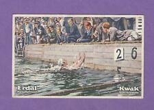 16/659 SAMMELBILD OLYMPISCHE SPIELE AMSTERDAM 1928 DEUTSCHE SIEGER SCHWIMMEN