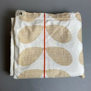 Orla Kiely House Full/Queen Duvet Cover Tan/Beige Scribble Stem