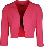 Michaela Louisa Fuschia Pink Cropped Bolero Jacket  UK 10 US 6 EU 38 RRP £135