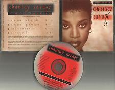 CHANTAY SAVAGE I will Survive EDIT & ACAPPELLA & INSTRUMENTAL PROMO DJ CD Single