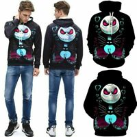 Nightmare Before Christmas Hoodies Sweater 3D Costume How the Stole Sweatshirts
