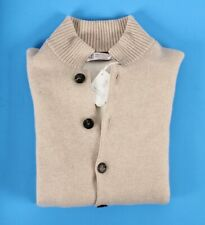 $2995 NWT - BRUNELLO CUCINELLI Cashmere Bomber Jacket Sweater THICK - 50 M
