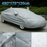 Heavy 2.2KG Waterproof Large L 2 Layer Full Car Cover Breathable Protect Outdoor
