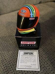 JEFF GORDON #24 DUPONT AUTOMOTIVE FINISHES      SIMPSON MINI RACING HELMET   1:4