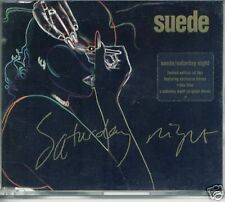 SUEDE SATURDAY NIGHT + DEMO + THIS TIME LIMITED EDITION CD SINGLE 1996