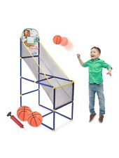 Basketball Arcade Game for Kids - Single Shot Indoor Shooting System with.