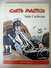 CORTO MALTESE SUITE CARIBEANA - RIZZOLI 1990 1° ED. - FUM4