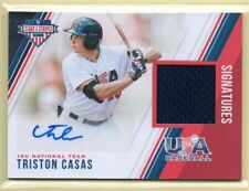 2018 Stars & Stripes SIGNATURES Triston Casas #/299 RC AUTO JERSEY - RED SOX