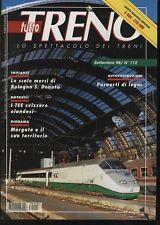 Modellismo Tutto Treno anno 1998  n° 112 Locomotive E 404 ETR 500