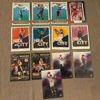 13 Card Basketball Insert Lot Jamal Murray, James Harden, Devin Booker, Simmons