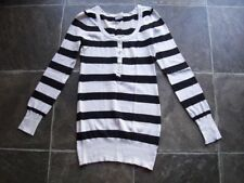 Scoop Neck Hand-wash Only Thin Knit Striped Jumpers & Cardigans for Women