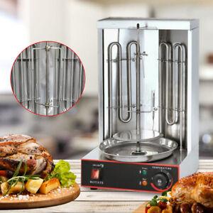 Electric Vertical Broiler Shawarma Machine Doner Kebab Gyros Rotisserie Grill