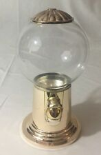"""Candy or Gumball Dispenser Machine, 9"""" Tall Metal"""