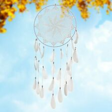 White Big Handmade Hanging Ornaments Lace Dream Catcher Mlsf-27