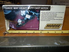 New 3-WAY CAST HITCH from Moose Utilities