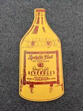 Vintage 1950's New Rochelle Beverages Mt. Vernon New York
