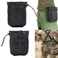 Military Molle Tactical Gun Magazine Dump Drop Pouch Utility Army Waist Pack Bag