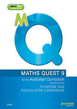 Maths Quest 9 for the Australian Curriculum Calculator Companion (Ti & Casio) by Mark Barnes, Raymond Rozen, Robert Cahn (Paperback, 2014)