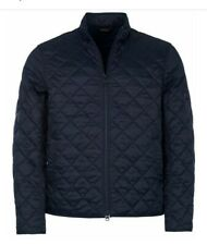 Barbour International Steve Mcqueen men's Gear Quilted Jacket Navy Size M