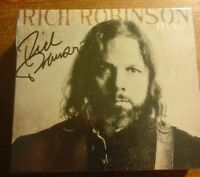 SIGNED RICH ROBINSON - FLUX CD Autographed (the black crowes) in stock