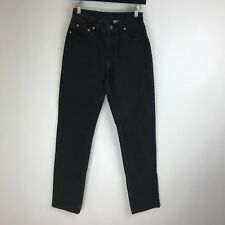 Jordache Jeans - Relaxed Fit Tapered Black - Tag Size: 5/6 Long (26x33) - #4982