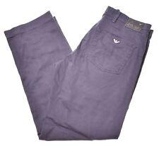 ARMANI JEANS Mens Trousers W36 L32 Blue Cotton  BH16