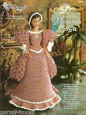 Hanna's Venetian Gown Ladies of Fashion Crochet Pattern for Barbie Dolls NEW