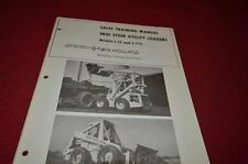 New Holland L-35 L-775 Skid Steer For 1975 Sale Training Manual Manual DCPA5