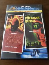 The Masque of the Red Death & Premature Burial - MGM Midnite Movies DVD OOP