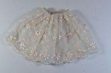 Vintage Barbie Floral Petticoat #921 (1959-1963) White Full Petticoat