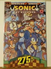 Sonic the Hedgehog 275 Archie IDW Knuckles Shadow Tails Mega Man Ongoing Series