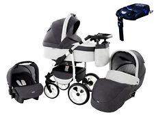 Kombi Kinderwagen System 3in1 Buggy Autositz Babyschale Sportwagen ZEO WIND