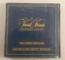 amstrad cpc trivial pursuit cassette game genus edition complete