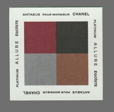 Carte Publicitaire - advertising card -  Chanel