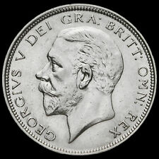 1927 George V Silver Half Crown, Third Coinage, Modified Effigy, VF #2