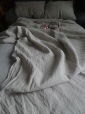100%LINEN BEDDING SET fitted sheet flat sheet two pillowcases eco natural linen