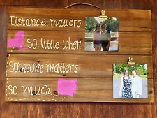customizable friends BFF pallet sign photo picture holder frame display board