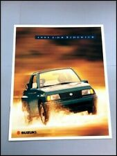 1995 Suzuki Sidekick 2-door Original Car Sales Brochure Catalog
