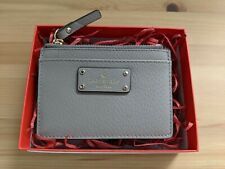 NEW Kate Spade New York Jeanne Small Zip Leather Card Holder / Wallet -Genuine