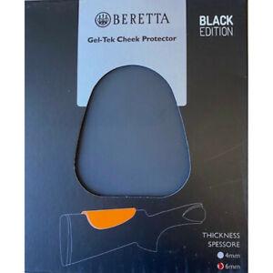 Beretta Black Comb Raiser Cheek Protector Gel-Tek Pad 4 mm & 6 mm
