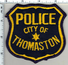City of Thomaston Police (Georgia) Uniform Take-Off Shoulder Patch from 1985