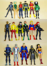 DC Universe Young Justice figure joker Captain Atom superman supergirl Nightwing