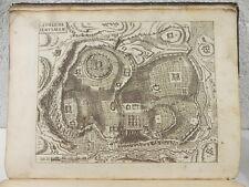 AMELOTE LE NOUVEAU TESTAMENT DE JESUS-CHRIST carte plan gravure bible 1688