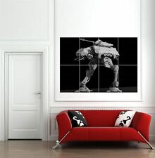 At At Se Walker Star Wars Movie Film Weapon Giant Wall Art Print New Poster