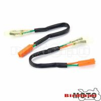 LED Turn Signal Indicator Leads Connector Adaptor Leads For Honda Kawasaki Leads